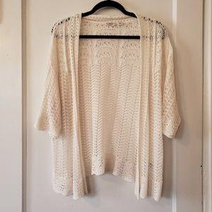 Cato Crochet Cardigan